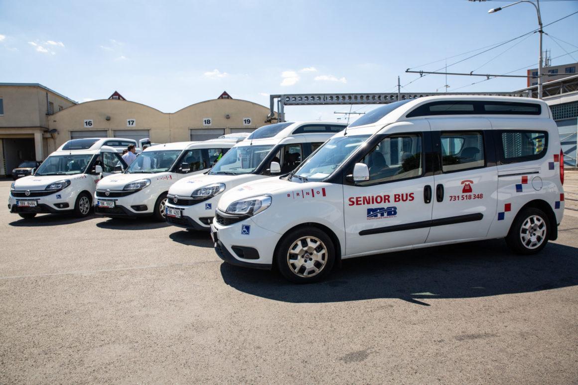 Oblíbenou službu SENIORBUS jsme rozšířili o čtvrté vozidlo
