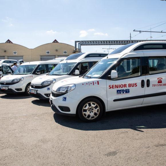 Služba SENIORBUS se osvědčila, město má už čtyři vozidla