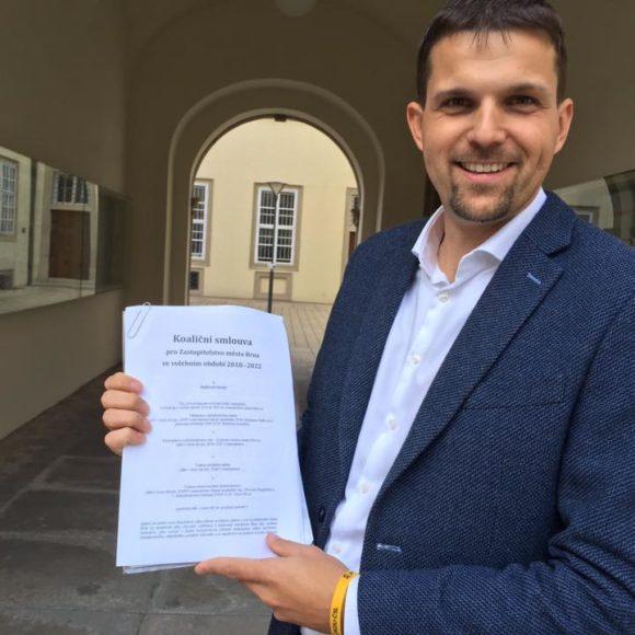 Koaliční smlouva pro Zastupitelstvo města Brna ve volebním období 2018—2022