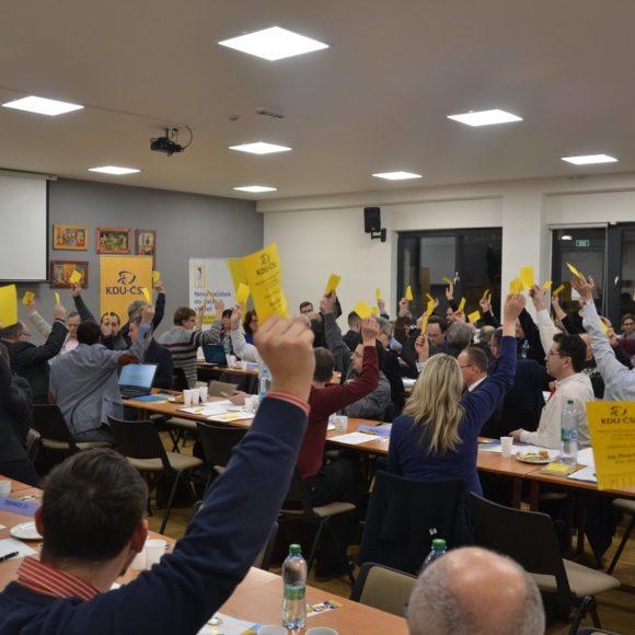 Brněnští lidovci si zvolili nové vedení