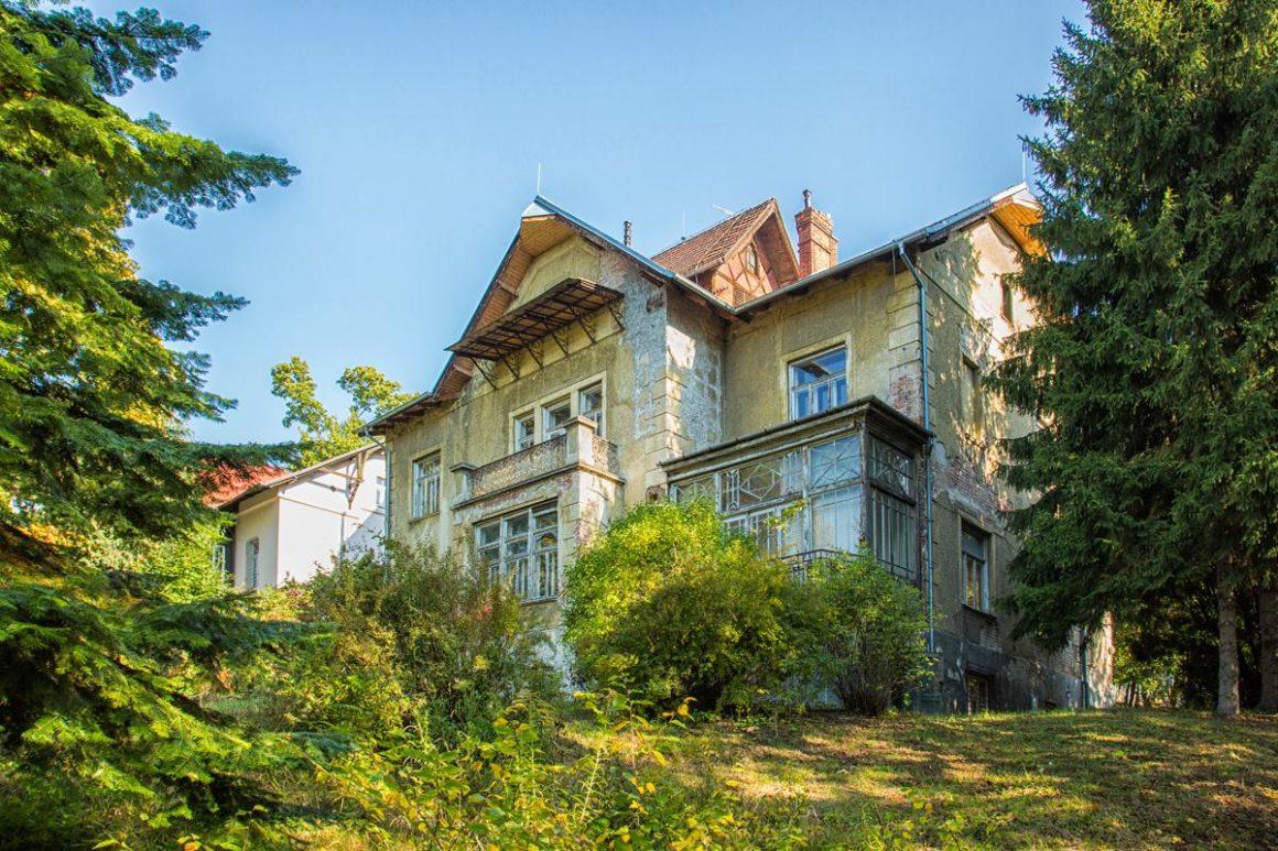 Zahradu Arnoldovy vily propojí se zahradami sousedních vil