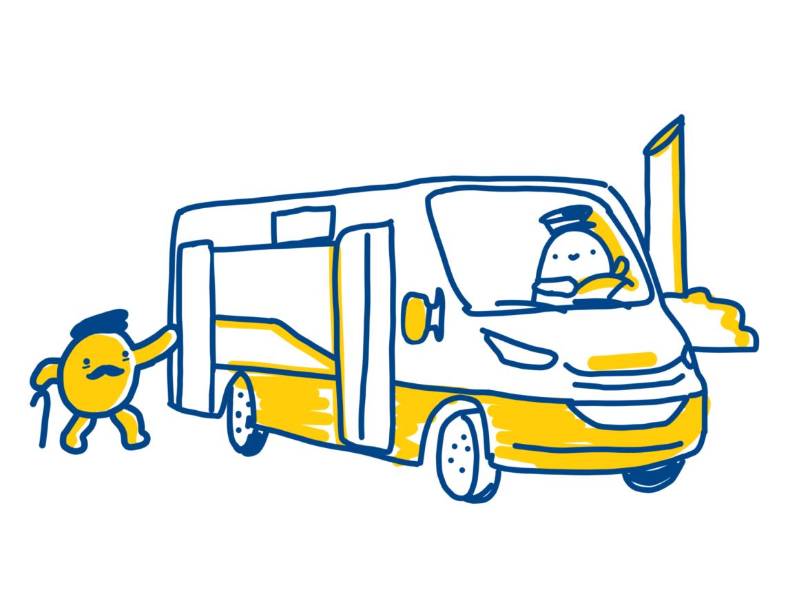 Návštěvníky Ústředního hřbitova nově přepravuje minibus