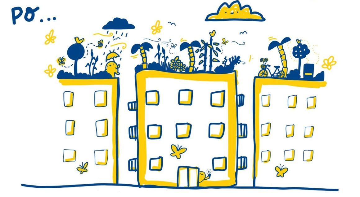 Brno je prvním městem, které podporuje výstavbu zelených střech