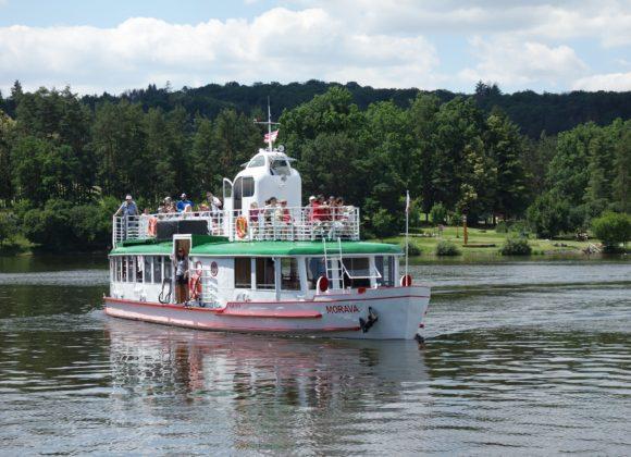 Na brněnskou přehradu vyplula loď Morava
