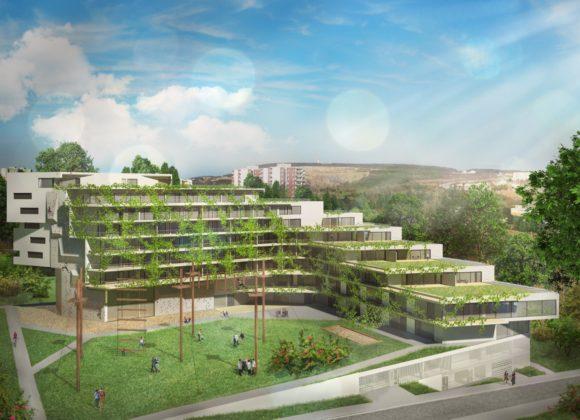 Vedení Brna nesouhlasí s podobou plánovaného rekreačního objektu na Vinohradech. Chce proto pozemky odkoupit.