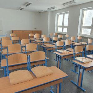 Přístavba II. stupně základní školy v Žebětíně