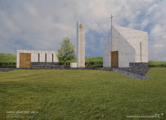 Nový Lískovec postaví novou kapli. Lidé na ni budou moci přispět ve veřejné sbírce